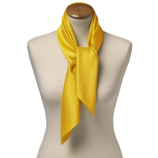 foulard carr polyester pour femme jaune. Black Bedroom Furniture Sets. Home Design Ideas
