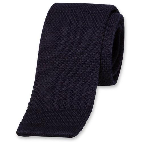 1e417ea60cf07 Cravate tricot bleu foncé | E-Shop - mode à petit prix