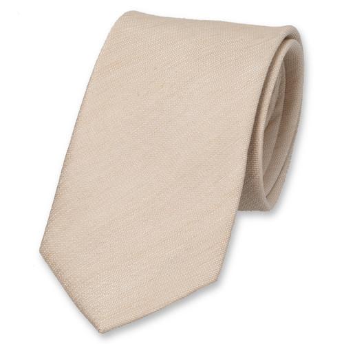 cravate beige cravates de haute qualit. Black Bedroom Furniture Sets. Home Design Ideas