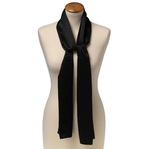 Foulard soie noir - rectangle (1) f5e2f32cdaa7