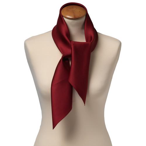 c9ce27fc292 Foulard carré soie pour femme   bordeaux