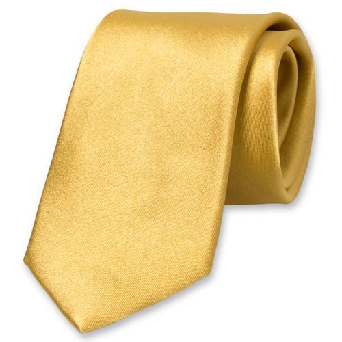 31e3314bc96b0 Cravate satin or : Commandez votre exemplaire dès aujourd'hui !