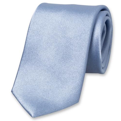 30a73ade054ef Cravate satin bleue : Commandez votre exemplaire dès aujourd'hui !