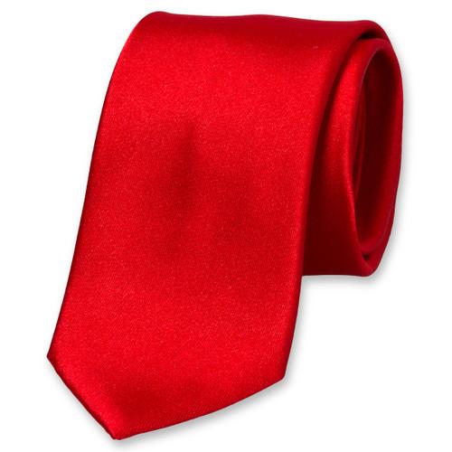 3fda68b3d737b Cravate satin rouge : Commandez votre exemplaire dès aujourd'hui !