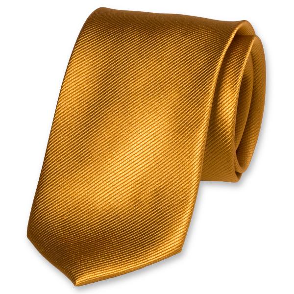 0f230a06ef629 Cravate jaune ocre - achat en ligne